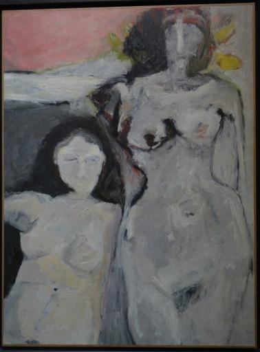 "Bernard DUFOUR - Painting - ""Nus """