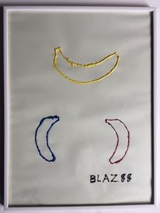 BLAZ 88 - Dibujo Acuarela - coronabanana