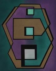 Mario RADICE - Grabado - Untitled from '4 acqueforti' portfolio