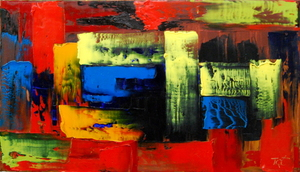 Serge Louis TUQUET - Painting - 607-B