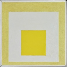 Josef ALBERS - Pintura - Study to Homage to the Square - On loan