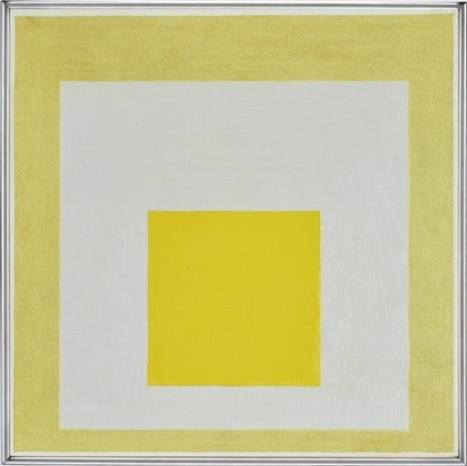Josef ALBERS - Peinture - Study to Homage to the Square - On loan