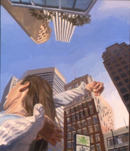 Benjamin DUKE - Peinture - Shifting Ground II