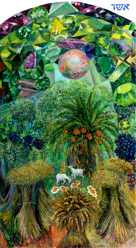 Victor BRINDATCH - Peinture - Israeli tribe of Asher