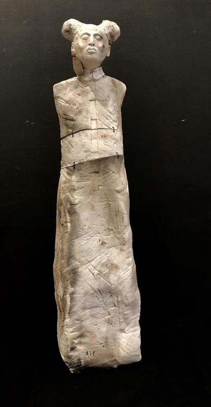 Anne GUERRIN - Sculpture-Volume - les sages 7.8.6