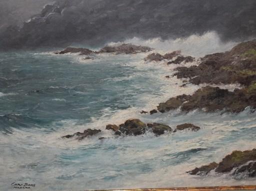Carl Oscar BORG - Painting -  Pinar del Rio Coast