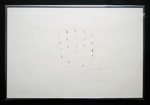 Lucio FONTANA - Drawing-Watercolor - Concetto spaziale