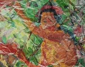 Wa Yan SUJA - Pittura - Beauty, sunlight & silence