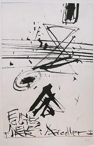 Arnold FIEDLER - Disegno Acquarello - Ein Gutes Neues Jahr - Neujahrskarte.