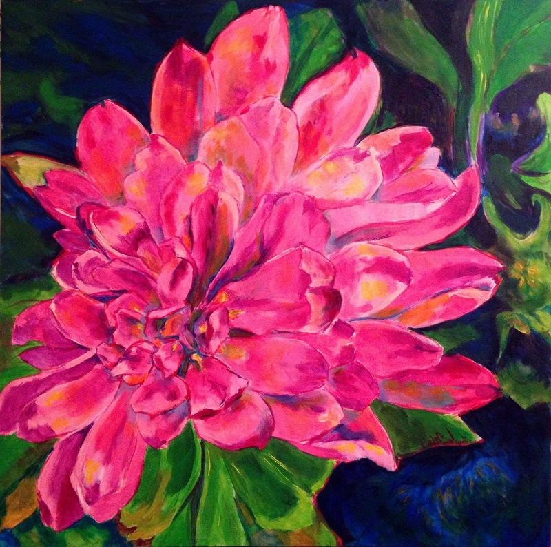 Guylaine MALO - Peinture - Balcon d'automne
