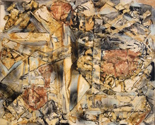 Alexandre ISTRATI - Peinture - Untitled Abstract