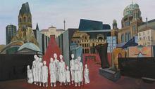 Christine KUNKLER - Painting - Berlin im Dialog