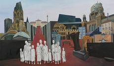 Christine KUNKLER - Pintura - Berlin im Dialog
