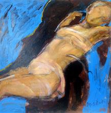 Ludmilla MOSHEK - Painting - Nuit