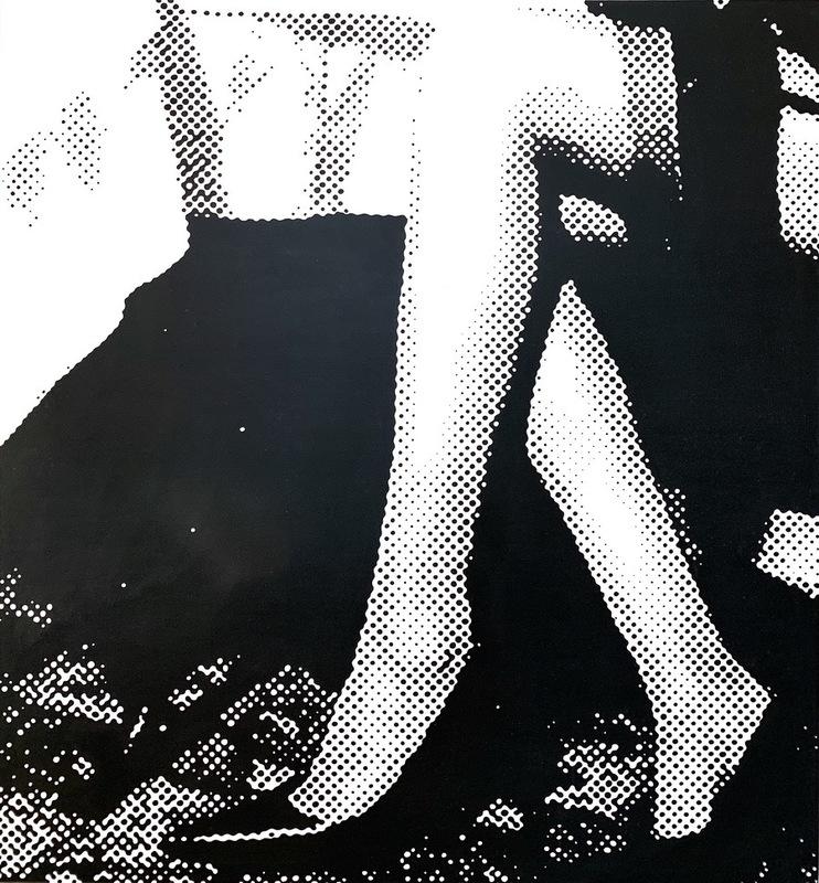 Janos SCHAAB - Peinture - paparazzi_01