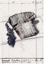 CHRISTO - Estampe-Multiple - Portfolio 12th Anniversary of Galeria Joan Prats