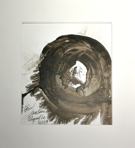 Paul JENKINS - Dessin-Aquarelle - Saint Paul de Vence
