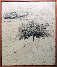 Carlo MATTIOLI - Pintura - Paesaggio bianco
