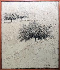 Carlo MATTIOLI - Painting - Paesaggio bianco