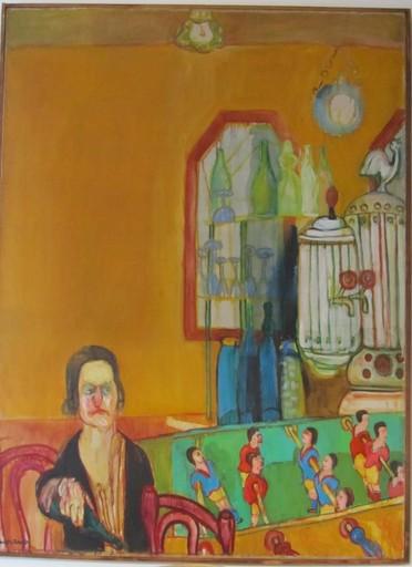 MORENO-PINCAS - Painting - At the Bar