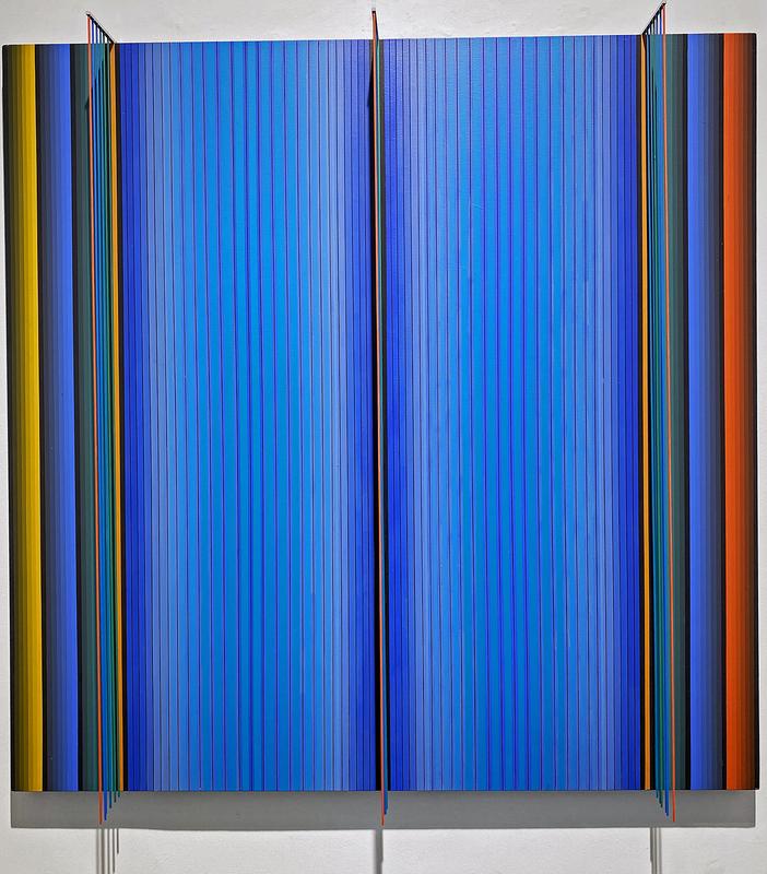 Dario PEREZ FLORES - Painting - Prochromatique n°1120