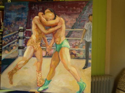 Serge SIEVIC - Peinture - catch