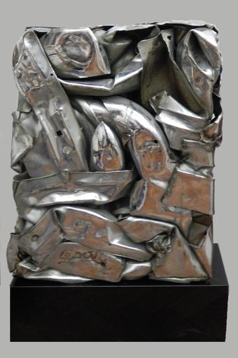 CÉSAR - Sculpture-Volume - Compression de pare choc