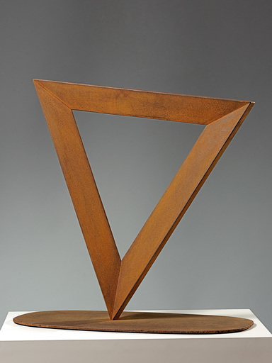 Mauro STACCIOLI - Sculpture-Volume - Triangolo