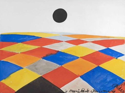 Alexander CALDER - Peinture - Composition