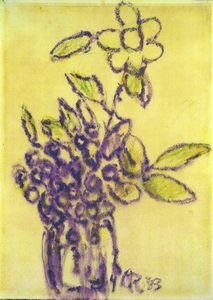 Christian ROHLFS, Blumenvase