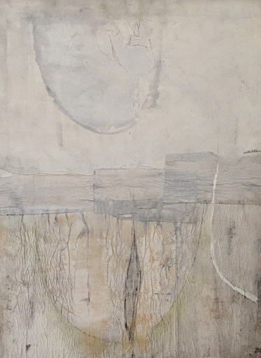 Walter LEBLANC - Pittura - Composition Abstraite