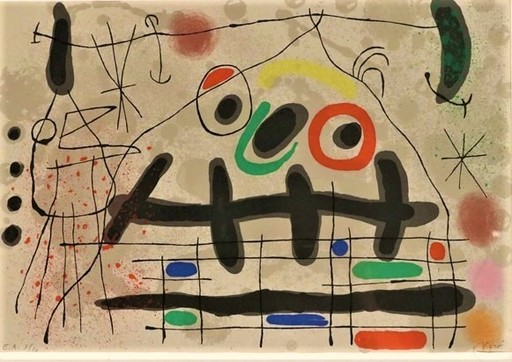 Joan MIRO - Print-Multiple - Le Lezard aux plumes D'or
