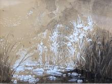 Pierre Eugène MONTEZIN - Dessin-Aquarelle - Paysage