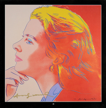 Andy WARHOL - Grabado - Ingrid Bergman Herself