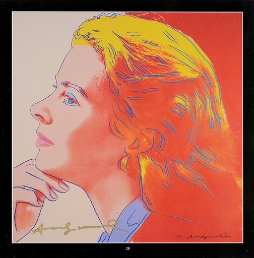 Andy WARHOL - Print-Multiple - Ingrid Bergman Herself
