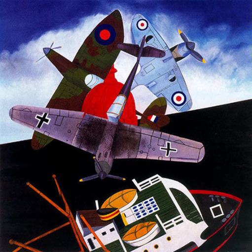 Malcolm MORLEY - Print-Multiple - Battle of Britain