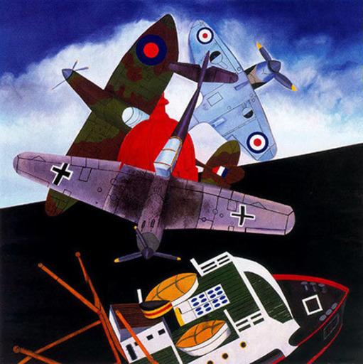 Malcolm MORLEY - Grabado - Battle of Britain