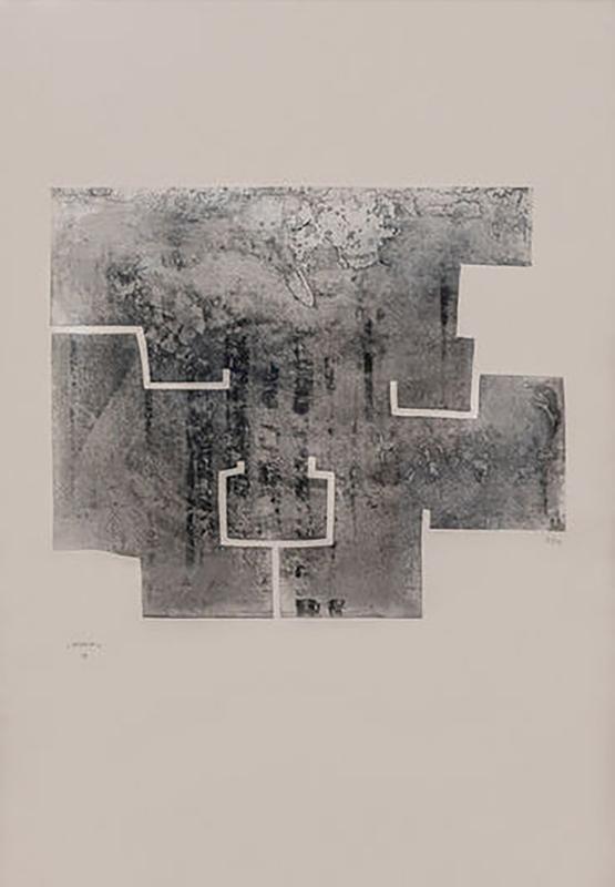 Eduardo CHILLIDA - Print-Multiple - Euzkadi VI