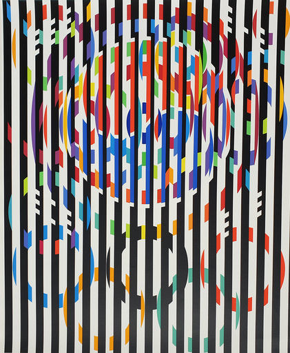 Yaacov AGAM - Grabado -  Message of Peace