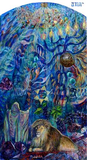 Victor BRINDATCH - Painting - Yehudi's knee