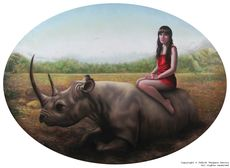 Judith VERGARA GARCÍA - Painting - Anathema