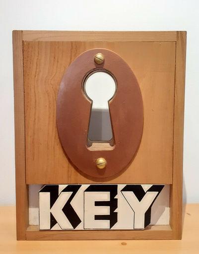 Joe TILSON - Escultura - Key Box