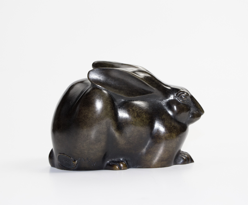 Armand PETERSEN - Sculpture-Volume - Lapin de garenne