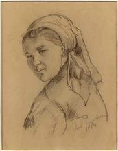 Paul Friedrich MEYERHEIM - Drawing-Watercolor
