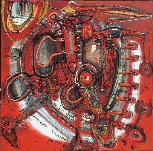 Patrick CHAPPERT-GAUJAL - Gemälde - Sans titre