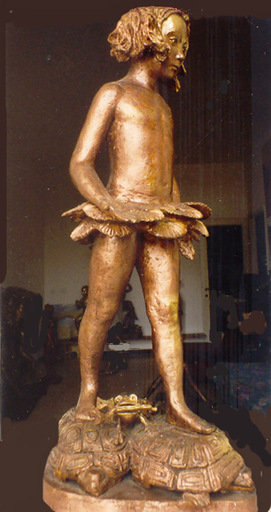 Victor BRINDATCH - Sculpture-Volume - Вера на черепахах