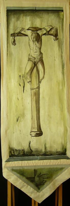 Vassiliev KOUGARYNE - Peinture - Berlin 87 (Hammer Christ)