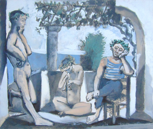 Pablo PICASSO - Stampa Multiplo - Bacchanal | Bacchanale