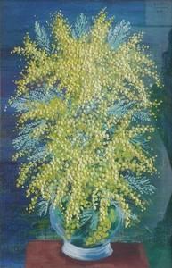Moïse KISLING - Peinture - Mimosas