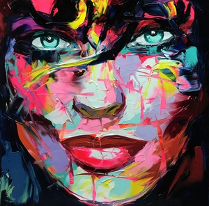 Françoise NIELLY - Painting - Annika